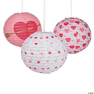 Valentine Arrow Hanging Paper Lanterns