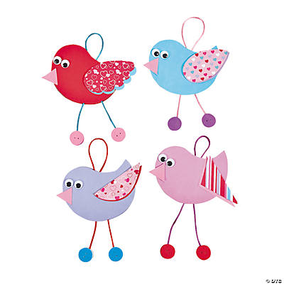 Valentine Bird Ornament Craft Kit