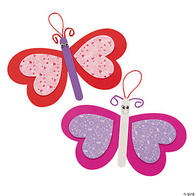 Valentine Butterfly Ornament Craft Kit