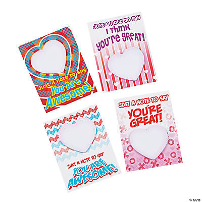 Cards with Mini Notepad – Mini Valentine Cards