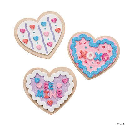 valentine cookie magnet craft kit - Valentine Cookie