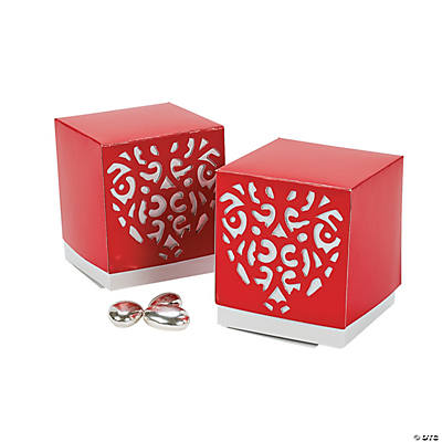 Valentine Die Cut Favor Boxes