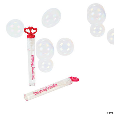 Valentine Hearts Bubble Tubes