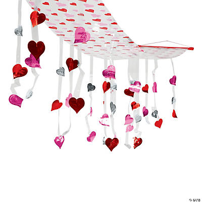 Valentine Hearts Ceiling Decoration