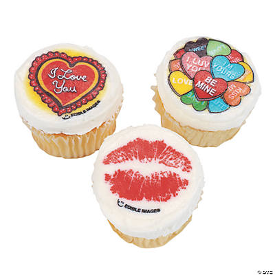 Valentine mini edible image cake decorations oriental for K decorations trading