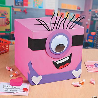 Valentine Minion Exchange Box Idea