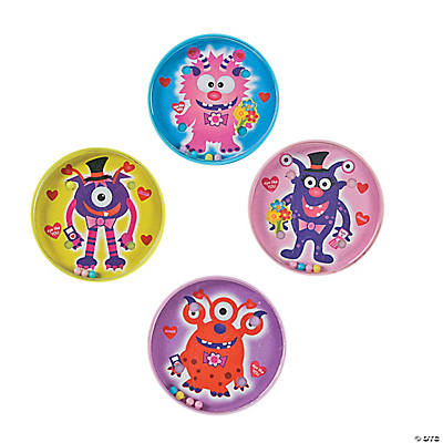 Valentine Monster Pill Puzzles