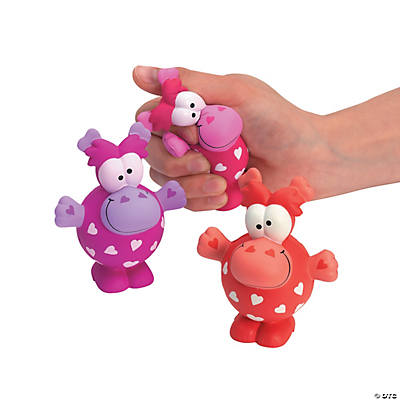 Valentine Monster Stress Toys