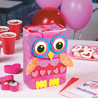 Owl Card Box Idea – Valentines Card Boxes