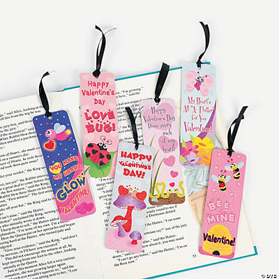 Valentine Prism Activity Bookmarks