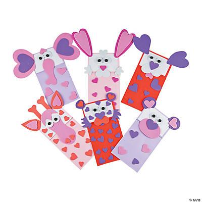 valentine puppet paper bag craft kit - Valentine Paper Crafts
