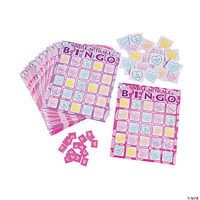 Day Bingo Game – Valentines Day Bingo Cards