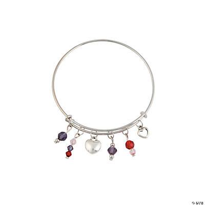 Valentines Day Expandable Bangle Bracelets Craft Kit   Valentines Bracelets