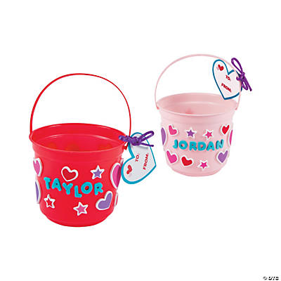 Valentine Treat Bucket Craft Kit