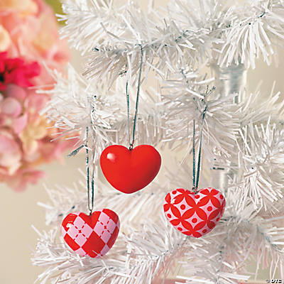 Valentine Tree Ornaments