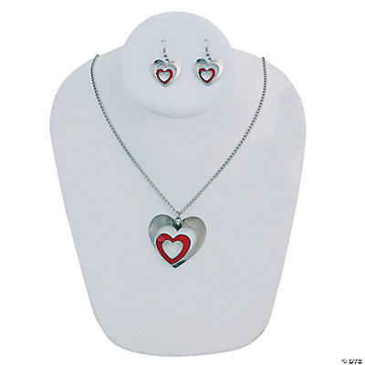 Valentine's Day Jewelry Set