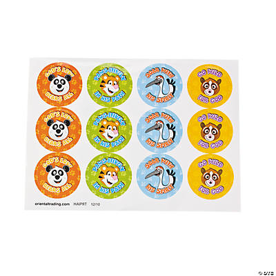 VBS Character Sheet Stickers