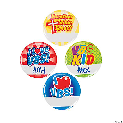 VBS Name Buttons