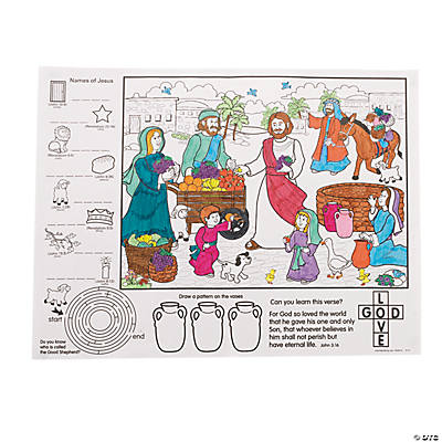VBS Nazareth Activity Placemats