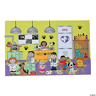 Veterinary Sticker Scenes