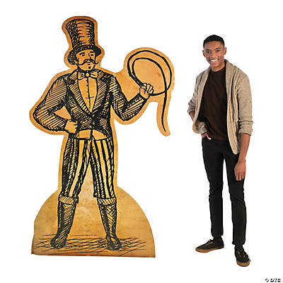 Vintage Circus Performer Cardboard Stand-Up