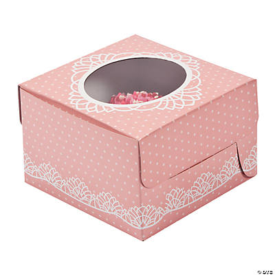 Vintage Collection Cupcake Boxes