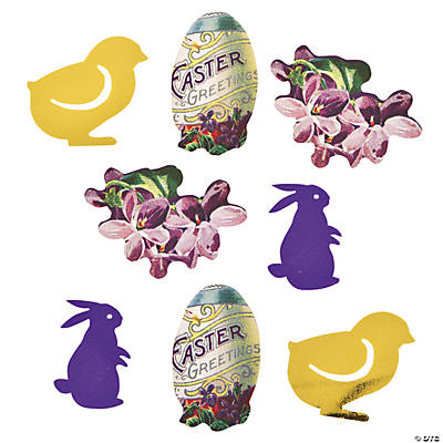 Vintage Easter Confetti