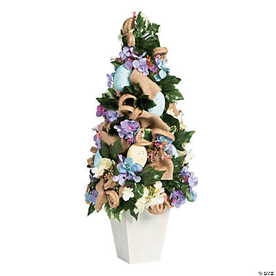 Vintage Easter Topiary Tree