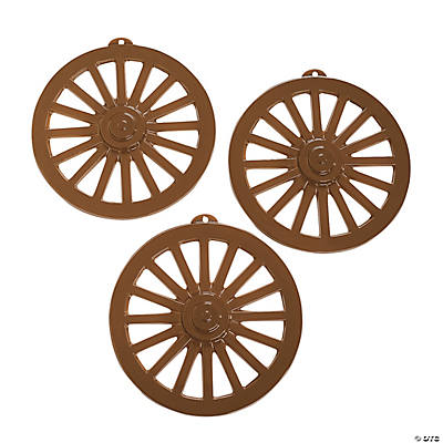 Wagon Wheel Wall Decorations