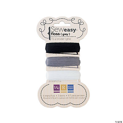 We R Memory Keepers® Sew Easy™ Grey Floss