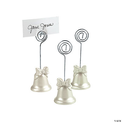 Wedding Bell Place Card Holders