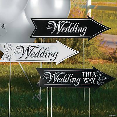 Wedding Road Sign Kit