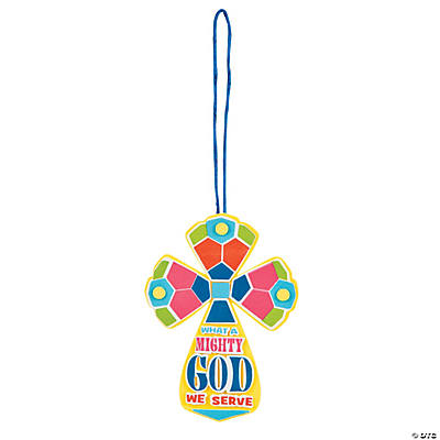 """What A Mighty God"" Ornament Craft Kit"