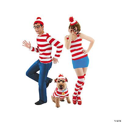 a1c06db47c Wheres Waldo Costumes   Sc 1 St Oriental Trading