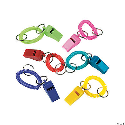 Whistle Expandable Key Chains