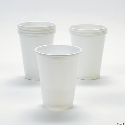 White Disposable Party Cups