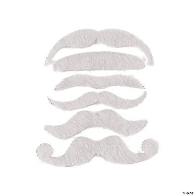 White Mustache Assortment