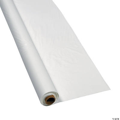 White Tablecloth Roll