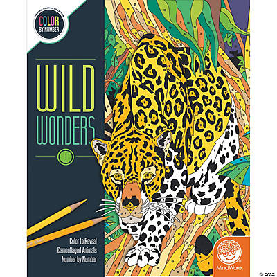 Wild Wonders Color by Number: Book 1
