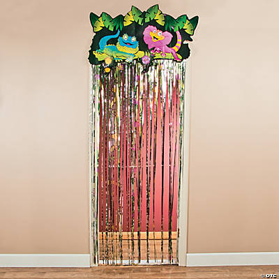 Wild Wonders Door Curtain with Border