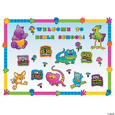 Wild Wonders VBS Bulletin Board Set