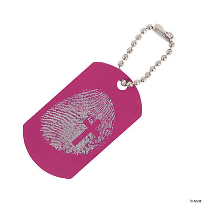 Wild Wonders VBS Day 2 Dog Tag Key Chains