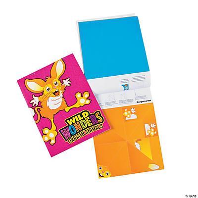 wild wonders vbs origami booklets oriental trading