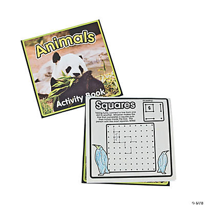 Wildlife Activity Books
