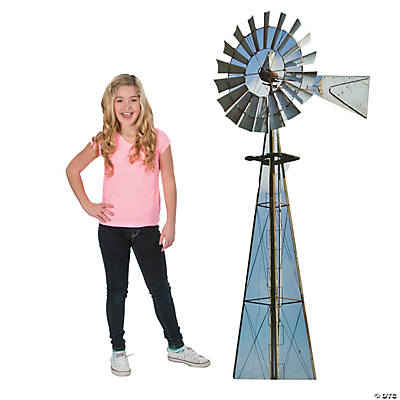 Windmill Cardboard Stand-Up