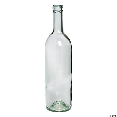 Wine bottle vases oriental trading discontinued for How to make flower vases out of wine bottles