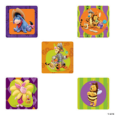 Winnie the Pooh Halloween Stickers - Oriental Trading - Discontinued