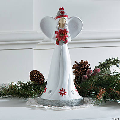 Winter Angel Figurine