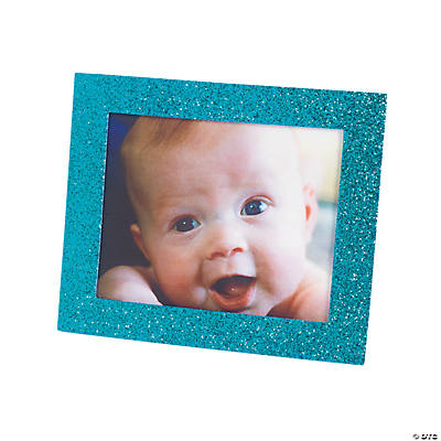 Winter Glitter Picture Frames