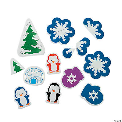 Winter Magnetic Manipulatives